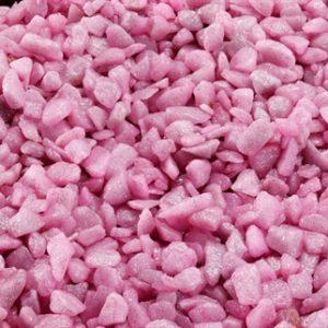 Aqua-della glamour steen antiek roze (6-9 MM 2KG)