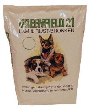 Greenfield 21 brok lam/rijst (10 KG)
