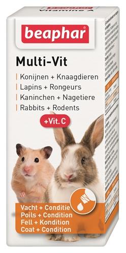 Beaphar multi-vitamine knaagdier en konijnen (20 ML)