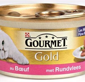 Gourmet gold fijne mousse rund (24X85 GR)