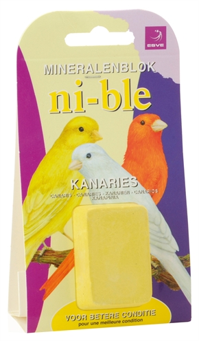 Esve ni-ble mineralenblok kanarie geel
