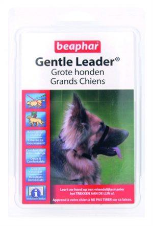Beaphar gentle leader black (LARGE)