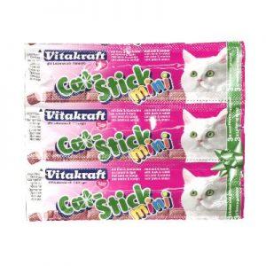 Vitakraft cat-stick mini eend met konijn (3 ST)