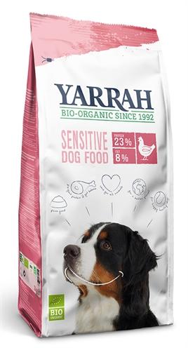 Yarrah dog biologische brokken sensitive kip zonder toegevoegde suiker (10 KG)
