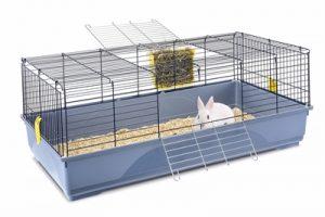 Imac konijnenkooi easy blauw / donkerblauw (120X60X46,5 CM)
