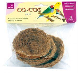 Esve kokos nestje (3 ST)