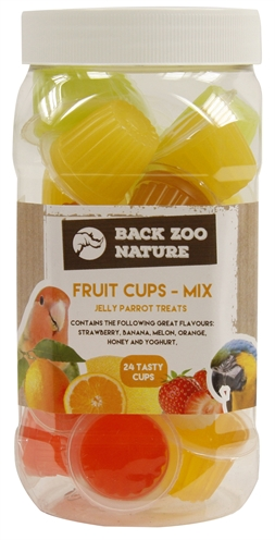 Back zoo nature fruitkuipje mix papegaai (24 ST)