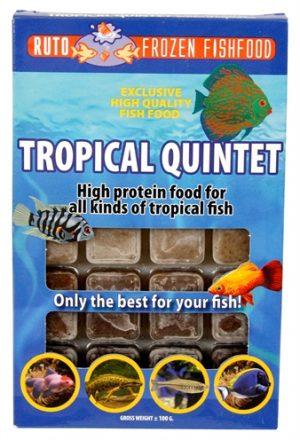 Ruto blue label tropical quintet (100 GR)