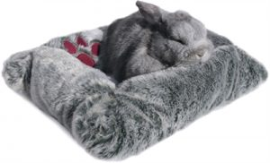 Snuggles pluche mand / bed  knaagdier (43X33 CM)