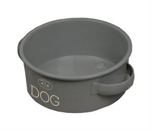 Banbury & co voerbak hond tin (22X7 CM)