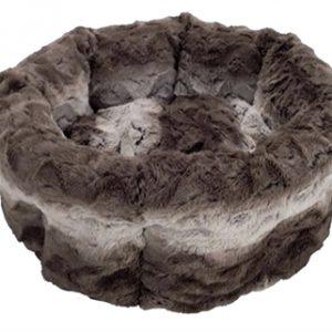 40 winks kattenmand snuggle grijs / creme (38 CM)