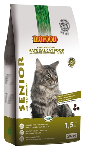 Biofood cat senior ageing & souplesse (1,5 KG)