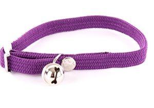 Halsband kat elastisch nylon paars (30X1 CM)