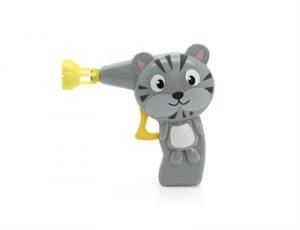 Bubble cat bellenblaas pistool handmatig vanillesmaak (12X4X12 CM)