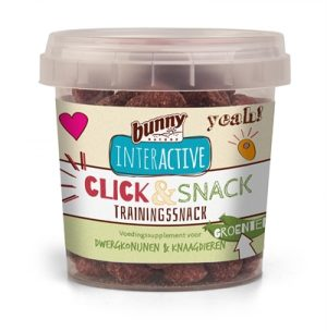Bunny nature click & snack trainingssnack groente (30 GR)