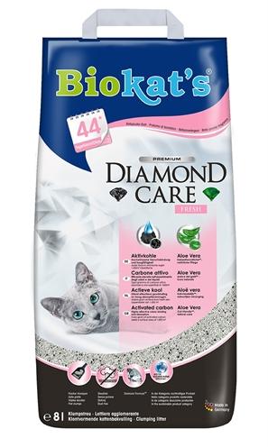 Biokat's kattenbakvulling  diamond care fresh (8 LTR)