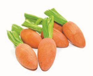 Happy pet carrot nibblers knaaghout (8X3X3 CM 6 ST)