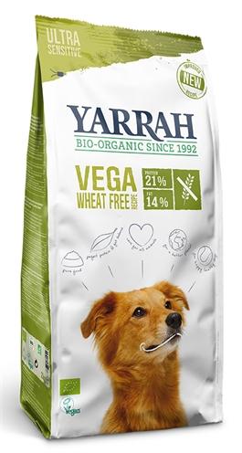 Yarrah dog biologische brokken vega ultra sensitive tarwevrij (10 KG)
