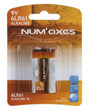 Numaxes alkaline batterij 6lr61 (9V)