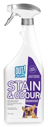 Out! stain & odour remover (750 ML)