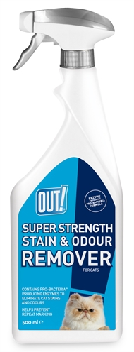 Out! super strenght stain & odour remover (500 ML)