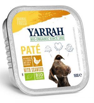 Yarrah dog alu pate kip / zeewier graanvrij (12X150 GR)