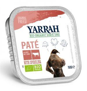 Yarrah dog alu pate rund / spirulina graanvrij (12X150 GR)
