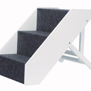 Trixie trap in hoogte verstelbaar wit (40X67 CM)