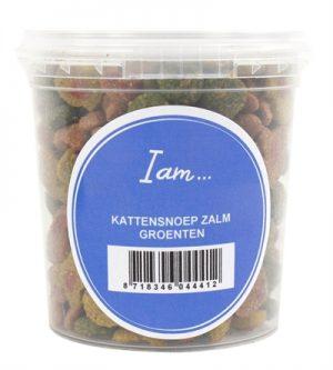I am kattensnoep zalm / groenten (70 GR)