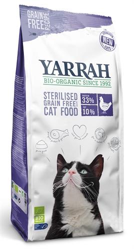 Yarrah cat sterilised grain free (700 GR)