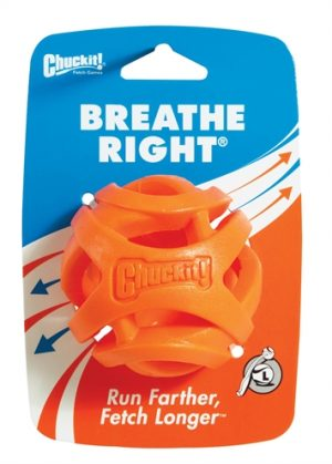 Chuckit breathe right fetch bal oranje (7 CM)