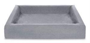 Bia bed cotton overtrek hondenmand grijs (BIA-70 85X70X15 CM)