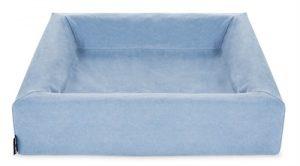 Bia bed cotton overtrek hondenmand blauw (BIA-50 60X50X12 CM)