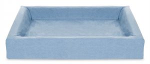 Bia bed cotton overtrek hondenmand blauw (BIA-80 100X80X15 CM)