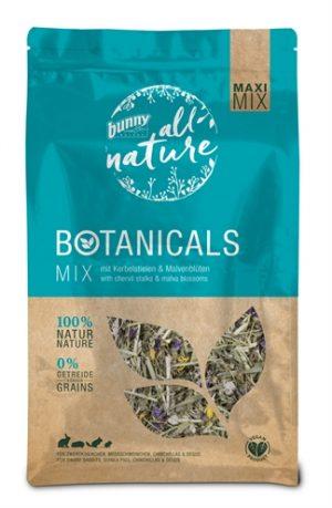 Bunny nature botanicals maxi  mix kervelstelen / malvebloesem (450 GR)