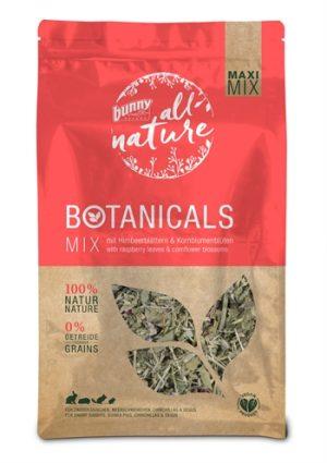 Bunny nature botanicals maxi mix frambozenblad / bloemkoolbloesem (450 GR)