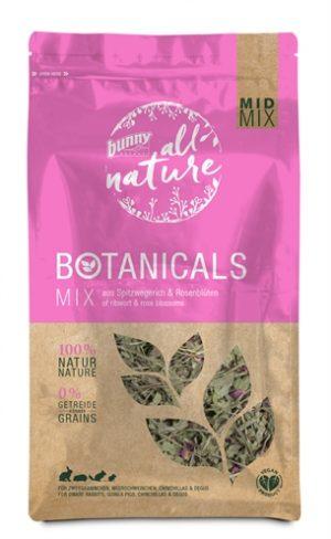 Bunny nature botanicals midi mix smalle weegbree / rozenbloesem (120 GR)