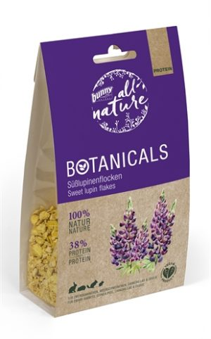 Bunny nature botanicals protein zoete lupine vlokken (140 GR)