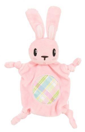 Zolux puppyspeelgoed plush cuddly konijn roze (14,5X3X18 CM)