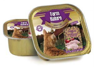 Farm nature rabbit / apple / blackberries (100 GR)