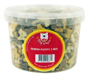Dog treatz inimini puppy 3 mix (1600 GR 3 LTR)