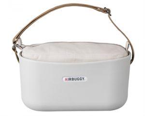 Airbuggy handtas hondenbuggy eorganizer lichtgrijs (31X14X37 CM)