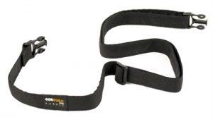 Airbuggy schouderriem voor cordura organizer zwart (60-120X2 CM)