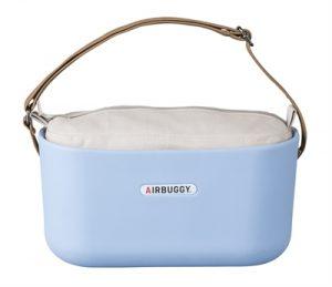 Airbuggy handtas hondenbuggy eorganizer powder blauw (31X14X37 CM)