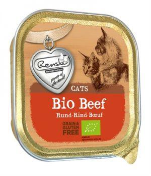 Renske kat graanvrij biologisch rund (19X85 GR)