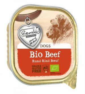 Renske hond graanvrij biologisch rund (9X300 GR)