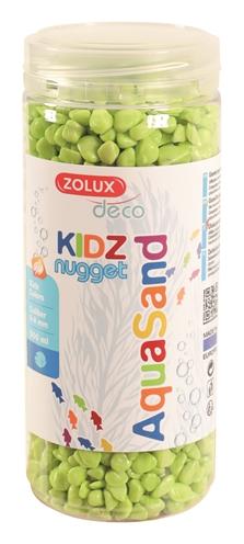 Zolux aquasand kidz nugget grind groen (500 ML)