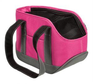 Trixie hondentas alea roze / grijs tot 5 kg (30X16X20 CM)