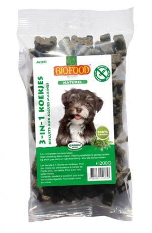 Biofood 3 in 1 hondenmineralenkoekjes (200 GR)