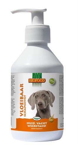 Biofood vloeibaar schapenvet met zalmolie (250 ML)